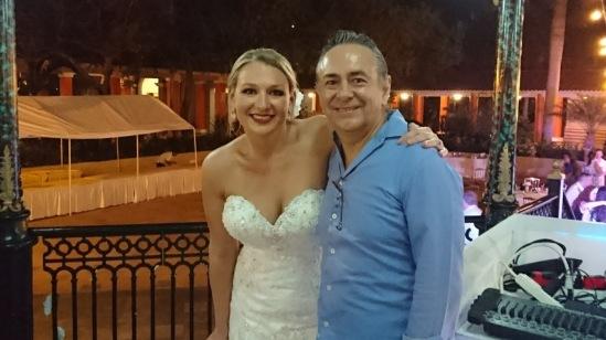 2017-04-08 Mr & Mrs Galvin at Iberostar Paraiso