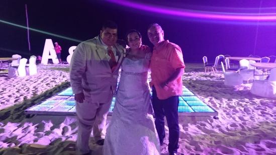 2017-04-29 Karen y David Ruelas en Iberostar Playa