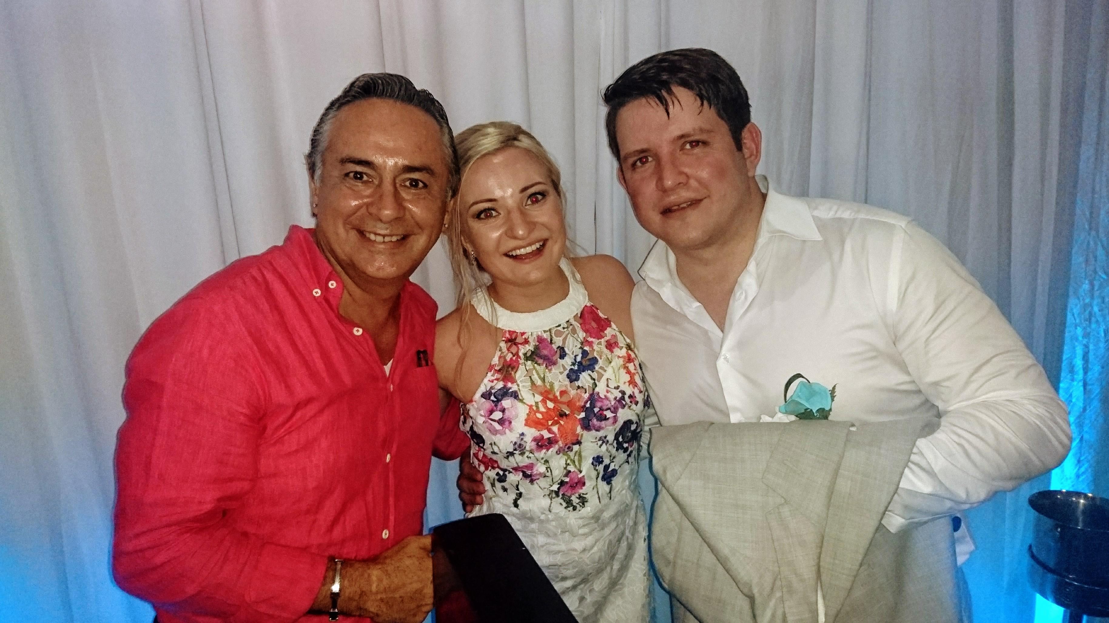 2017-05-03 Kirill and Nastya from Russia at Riu Península