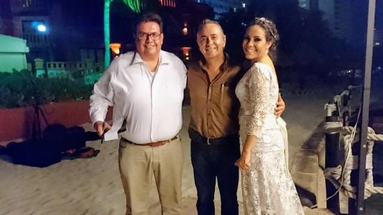 2017-05-11 Karla y Jorge Barrón en Fiesta Americana Cancún Plaza