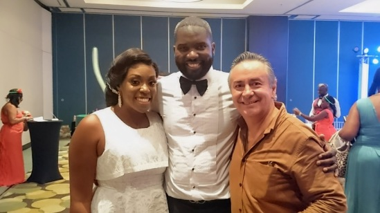 2017-07-07 Mr & Mrs Kenneth Jamal from Africa at Live Aqua Hotel