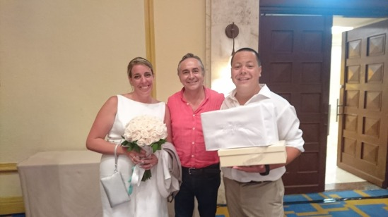 2017-08-19 Jessica & Erick Kirner at Iberostar Cancún