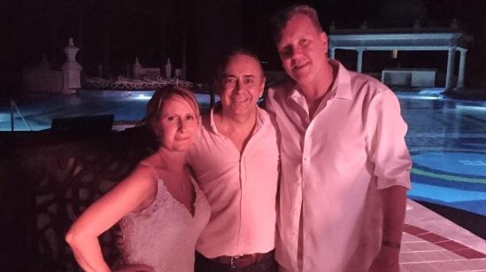 2018-02-01 Mr & Mrs Chad & Jodi at Riu Las Américas