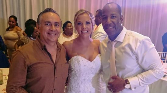 2018-04-27 Mr & Mrs Stephanie and Graham Chevry at Aqua Hotel