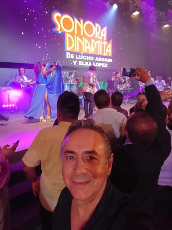 2018-10-03 La Sonora Dinamita con Banco Azteca en Fiesta Americana
