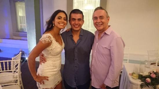 2019-08-10 Sr y Sra Navarro Guerreo de Colombia en BlueBay Grand Esmeralda